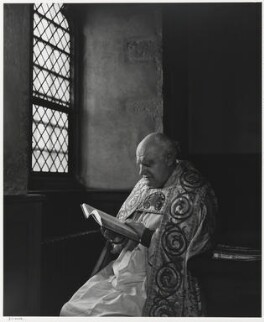 Arthur Michael Ramsey, Baron Ramsey of Canterbury, by Yousuf Karsh - NPG P490(64)