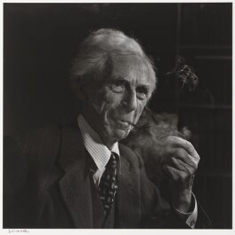 Bertrand Arthur William Russell, 3rd Earl Russell, by Yousuf Karsh - NPG P490(68)