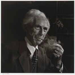 Bertrand Russell, by Yousuf Karsh - NPG P490(68)