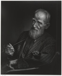 George Bernard Shaw, by Yousuf Karsh, 1943 - NPG P490(69) - © Karsh / Camera Press