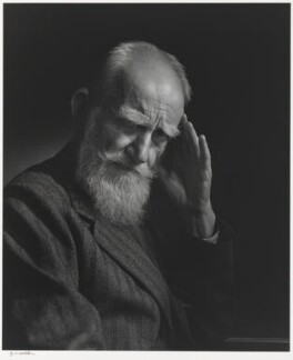 George Bernard Shaw, by Yousuf Karsh, 1943 - NPG P490(70) - © Karsh / Camera Press