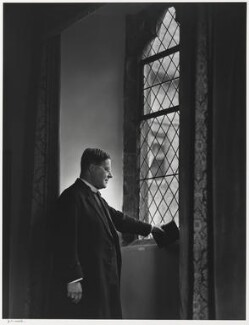 William Temple, by Yousuf Karsh - NPG P490(75)