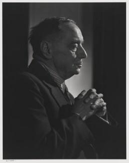 H.G. Wells, by Yousuf Karsh, 1943 - NPG P490(86) - © Karsh / Camera Press