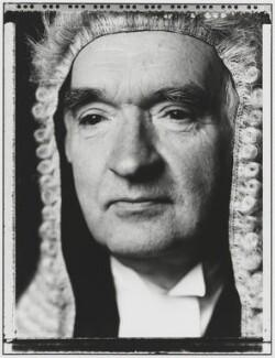 James Peter Hymers Mackay, Baron Mackay of Clashfern, by Nick Sinclair - NPG P510(24)