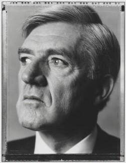 Cecil Edward Parkinson, Baron Parkinson, by Nick Sinclair - NPG P510(30)