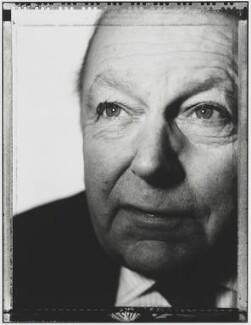 Francis Leslie Pym, Baron Pym, by Nick Sinclair - NPG P510(32)