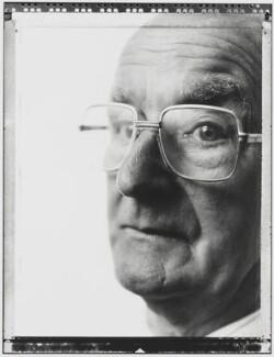 Hugh Parr Scanlon, Baron Scanlon, by Nick Sinclair - NPG P510(35)