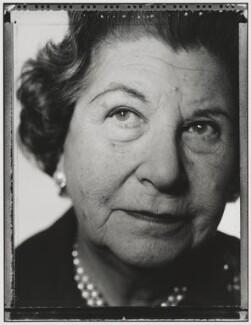 Jean Alys Barker (née Campbell-Harris), Baroness Trumpington, by Nick Sinclair - NPG P510(40)