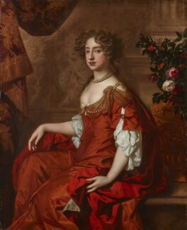 Queen Mary II, by Sir Peter Lely, circa 1677 - NPG 6214 - © National Portrait Gallery, London