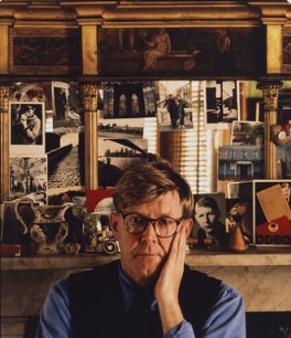 Alan Bennett, by Derry Moore, 12th Earl of Drogheda, 1992 - NPG  - © Derry Moore