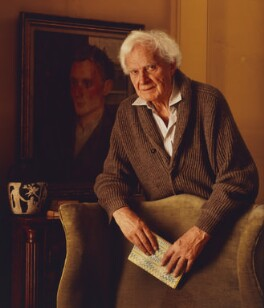 Stephen Spender, by Derry Moore, 12th Earl of Drogheda - NPG P536