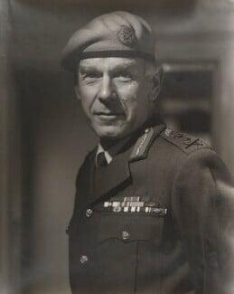 Sir Peter De La Billière, by Gilbert Adams - NPG P542