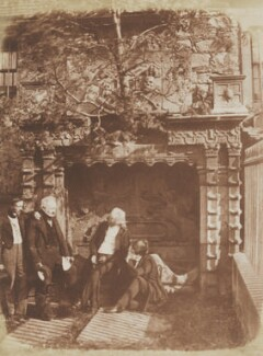 The Nasmyth Tomb, by David Octavius Hill, and  Robert Adamson - NPG P6(230)