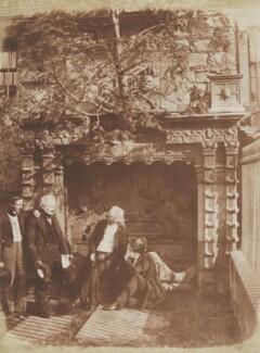 The Nasmyth Tomb, by David Octavius Hill, and  Robert Adamson, 1843-1848 - NPG P6(230) - © National Portrait Gallery, London