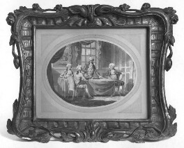 Plenipotentiaries of Britain, Holland, Prussia and Russia signing the Treaty of 1791, by Edward Dayes, 1791 - NPG 6263 - © National Portrait Gallery, London
