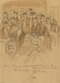 Group including some Members of Parliament, by Sir George Hayter - NPG 1695(q)