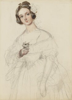 Possibly Emma Romer, by Alfred Edward Chalon - NPG 1962(h)