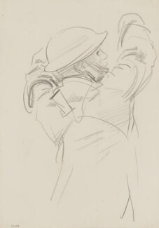 Study for Thou Shalt Not Steal, by John Singer Sargent - NPG 2908(18)