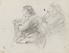 Unknown woman, by Henry Tonks - NPG 3072(3)