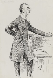Joe Chamberlain, by Harry Furniss - NPG 3349