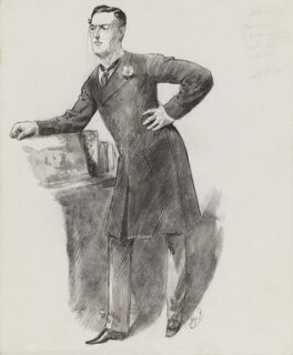 Joe Chamberlain, by Harry Furniss - NPG 3350