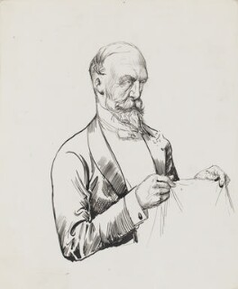 Sir Charles Wentworth Dilke, 2nd Bt, by Harry Furniss, 1880s-1900s - NPG 3357 - © National Portrait Gallery, London