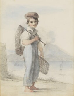 Neapolitan fisher-boy, attributed to Thomas Uwins - NPG 3944(6)