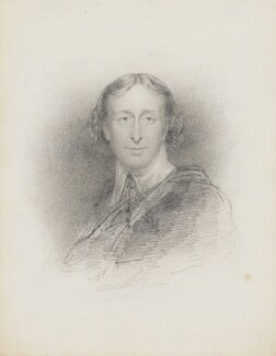 Unknown man in Van Dyke-style dress, by John Partridge - NPG 3944(11)