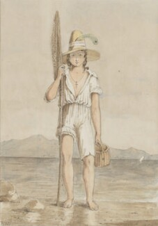 'Neapolitan Fisher-Boy' (Unknown sitter), possibly by Richard Westmacott - NPG 3944(17)