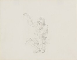Seated man, attributed to John Partridge - NPG 3944(39)