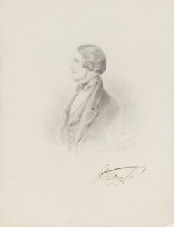 George William Barrington, 7th Viscount Barrington, by Alfred, Count D'Orsay - NPG 4026(4)