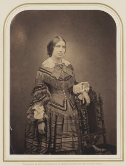 Unknown woman, by Maull & Polyblank, circa 1855 - NPG P106(20) - © National Portrait Gallery, London