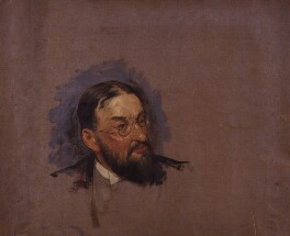Nathaniel Louis Cohen, by Fred Roe, 1908 -NPG 4123 - © National Portrait Gallery, London