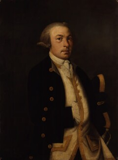 Unknown man, formerly known as James Cook, by Unknown artist - NPG 1414