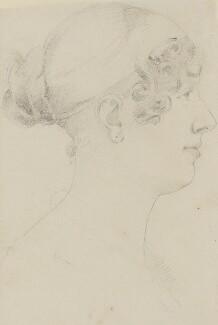 Lady Louisa Theodosia Hervey, Countess of Liverpool, by Sir Francis Leggatt Chantrey - NPG 316a(200)