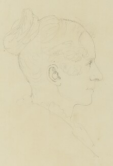 Queen Adelaide (Princess Adelaide of Saxe-Meiningen), by Sir Francis Leggatt Chantrey - NPG 316a(153)