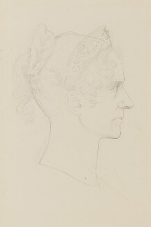 Queen Adelaide (Princess Adelaide of Saxe-Meiningen), by Sir Francis Leggatt Chantrey - NPG 316a(189)
