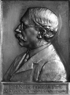 Francis Gotch, by Alfred Drury - NPG 1777a