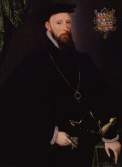 John Lumley, 1st Baron Lumley, by Unknown Anglo-Netherlandish artist, 1570s - NPG 5262 - © National Portrait Gallery, London