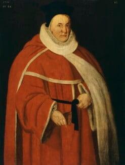 Unknown man, formerly known as Sir John Popham, by Unknown artist - NPG 478