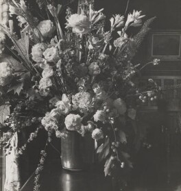 Flowers, by Cecil Beaton - NPG P261