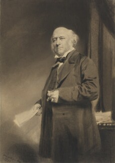 Richard Bethell, 1st Baron Westbury, by William Walker & Sons - NPG 2792