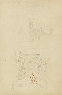 Candelabrum, by Sir Francis Leggatt Chantrey - NPG 316a(201)