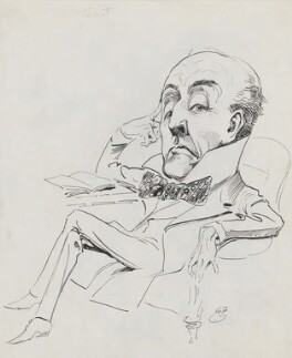 Sir Anthony Hope (Anthony Hope Hawkins), by Harry Furniss - NPG 3465