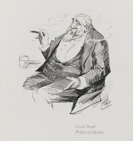 Joseph Knight, by Harry Furniss - NPG 3480