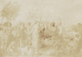 The Dance - from a Picture by (William) Etty, by David Octavius Hill, and  Robert Adamson - NPG P6(180)