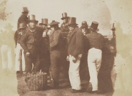 Fishermen, by David Octavius Hill, and  Robert Adamson - NPG P6(198)
