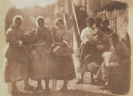 Fisherwomen (also called 'A Lane in Newhaven'), by David Octavius Hill, and  Robert Adamson - NPG P6(209)