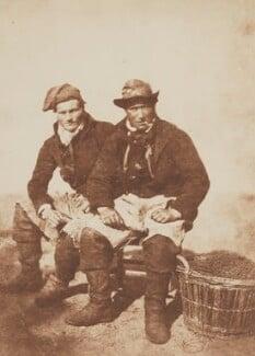 Two Fishermen, by David Octavius Hill, and  Robert Adamson, 1843-1848 - NPG P6(210) - © National Portrait Gallery, London