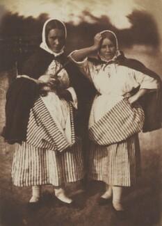 Sisters, by David Octavius Hill, and  Robert Adamson - NPG P6(212)